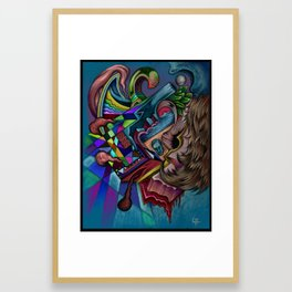 """""""My Fault"""", A painting by Landon Huber Framed Art Print"""