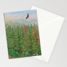 A Day of Forest(8). (coniferous forest) Stationery Cards