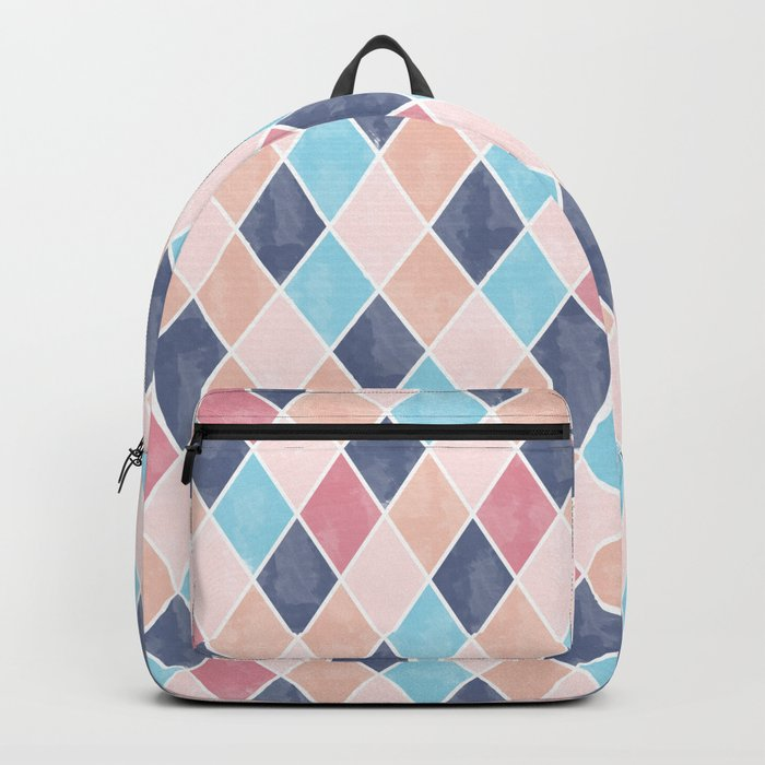 Lovely geometric Pattern VI Backpack