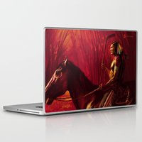 blackhawks Laptop & iPad Skins featuring Blackhawks Tribute by Bryan Butler Art