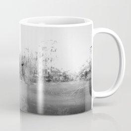 A través del cristal (black and white version) Coffee Mug