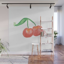 Cherry Bomb Wall Mural