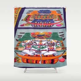 Guatemalan Alfombras Shower Curtain
