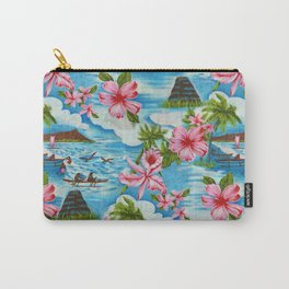 Hawaiian Scenes Carry-All Pouch