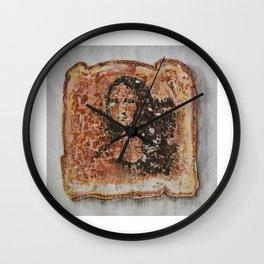 Burnt Sienna vs. Burnt Toast Wall Clock