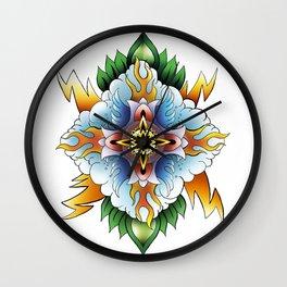 Element Mandala Wall Clock