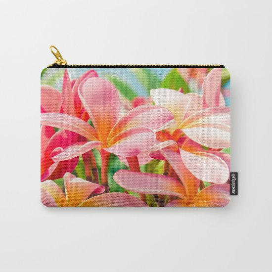 Pua Melia ke Aloha Maui Carry-All Pouch