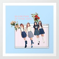BLACK PINK IN YOUR AREA Art Print