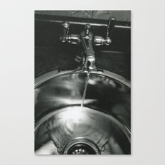 Funeral Sink Canvas Print