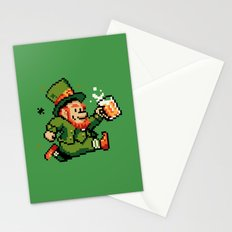 Leprechaun St. Patrick's Day Stationery Cards