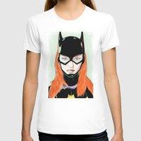 batgirl T-shirts featuring Batgirl by Matthew Bartlett