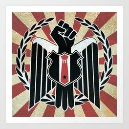 the new revolution Art Print