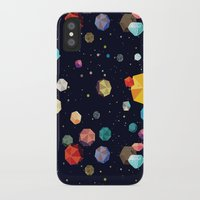 low poly iPhone & iPod Cases featuring Low Poly Space by Evan Smith