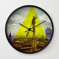 milan Wall Clocks featuring Milan by natsnats
