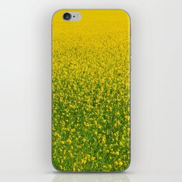 Mustard Field (of Yellow and Green) iPhone Skin
