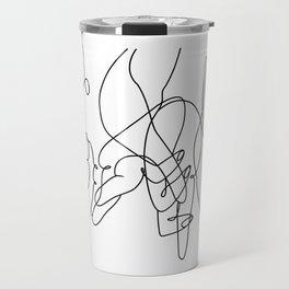 promettre-Pinky Swear line art Travel Mug