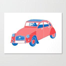 A French Car Canvas Print