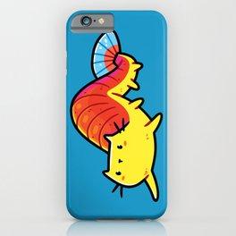 Shrimp Cat, Funny Weird Mermaid, Kawaii Cute iPhone Case