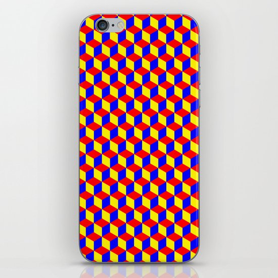 Cubed iPhone & iPod Skin