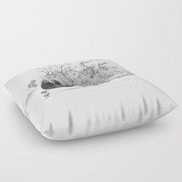 Touching you Floor Pillow