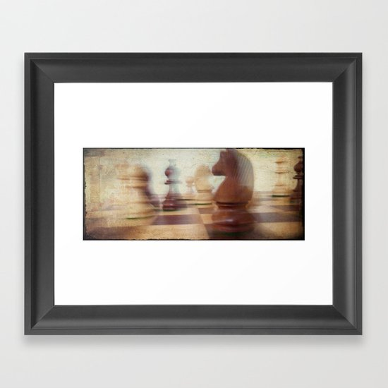 Poetry of The Game Framed Art Print