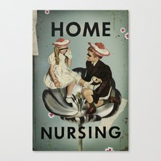 Home Nursing Canvas Print