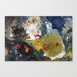 Oil Paint Texture Canvas Print