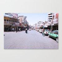 palestine Canvas Prints featuring Ramallah, Palestine by ear2ear