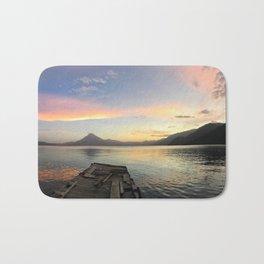 Lake Atitlan Sunsets Bath Mat