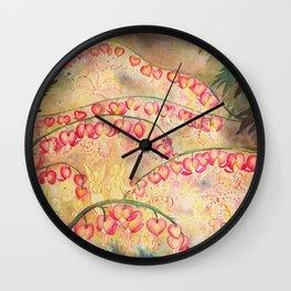 Faerie Lunar New Year Wall Clock