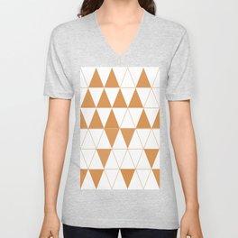 Geometric DC Unisex V-Neck