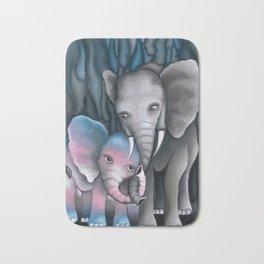 Elephant Love 2 Bath Mat