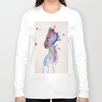 groot Long Sleeve T-shirts featuring Groot by Kolbi Jane