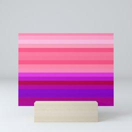 Re-Created Spectrum LXIX by Robert S. Lee Mini Art Print