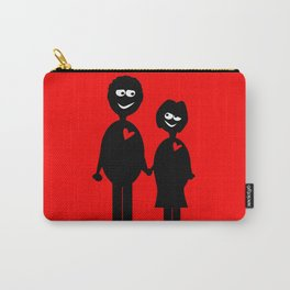 Couple Holding Hands Carry-All Pouch