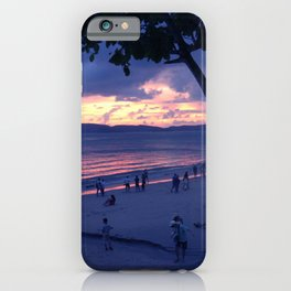 Sunset in Krabi Ao Nang Beach iPhone Case