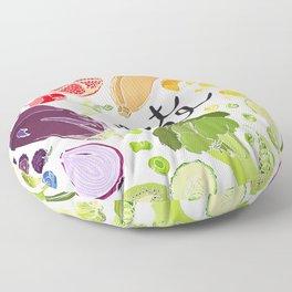 Eat Well Floor Pillow