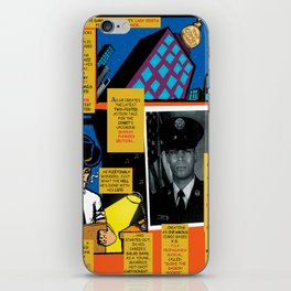 Bird of Steel Comix – 7 of 8 (Society 6 POP-ART COLLECTION SERIES) iPhone Skin