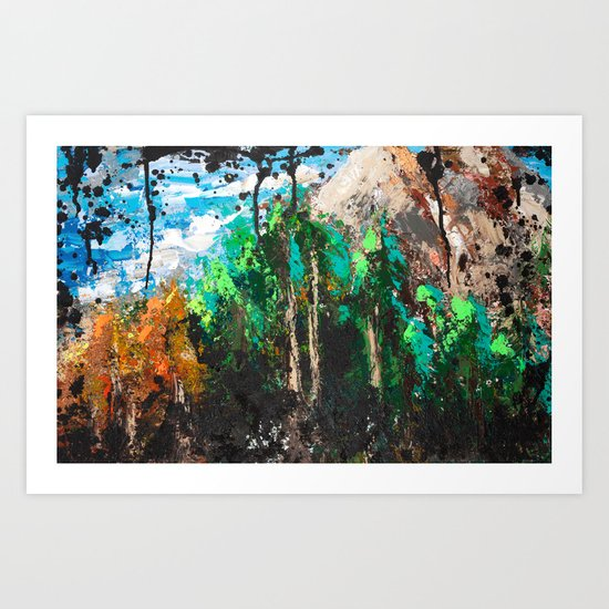 Kaninaskis Country Art Print