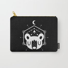 Moon Bear White Carry-All Pouch