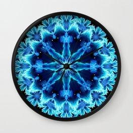 Crystal Light Mandala Wall Clock