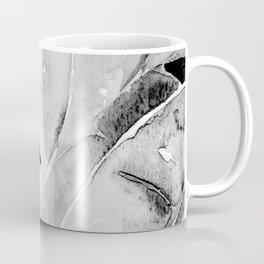 Banana Tree Leaves | Watercolor Black and White Coffee Mug