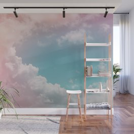 Pastel Clouds over Galveston Wall Mural