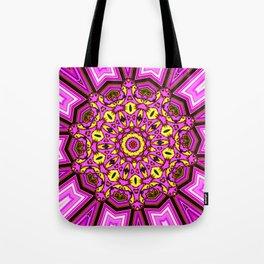 Abstract Paradise - Purple Arrow Tote Bag