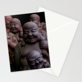 Laughing Buddhas Stationery Cards