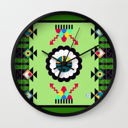Blessings of the Sun Wall Clock