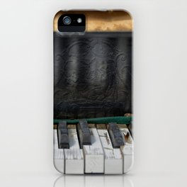 the old piano iPhone Case