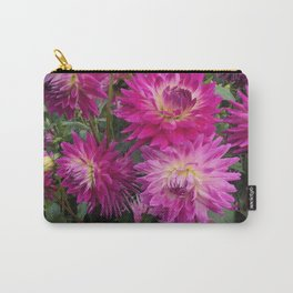 Pretty in Pink Dahlia 2 Carry-All Pouch