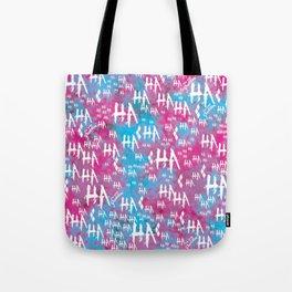 Harley Quinn: HA HA HA [Alternate] Tote Bag