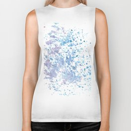 Colorful sponge Biker Tank